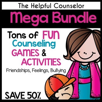 Bullying, Social Skills, Problem Solving, & Feelings Activity Bundle
