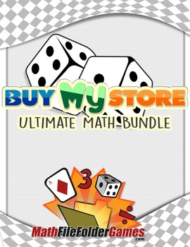 Buy My Store - Math Mega Bundle