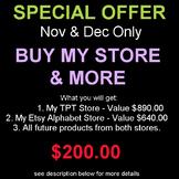 Buy My Store & More
