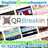 Buy My Store! #QRBreakIN REVERSE Escape Room LIFETIME EXPANDING BUNDLE!