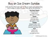 Buy an Ice Cream Sundae - Adding Over a Dollar