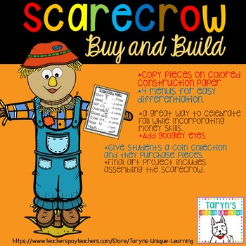 Buy and Build- Scarecrow Craftivity