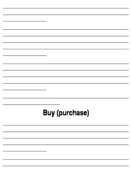 Buy, by, bye packet