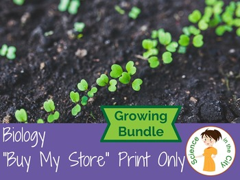 Buy my Store Bundle - Biology - Print Items Only