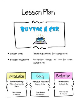 Buying A Car Lesson