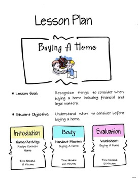 Buying A Home Lesson