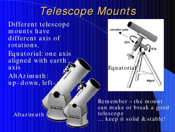 Buying & Using Your First Telescope