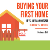 Buying Your First Home (Renting vs. Owning and 15 vs. 30 Y