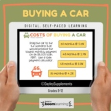 Boom Cards™ on Buying A Car for Personal Finance