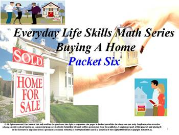 Buying a Home: Everyday Life Skills Math Series: Booklet