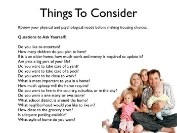 Buying a Home PowerPoint