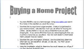 Buying a House Project