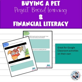 Buying a Pet Project Based Math - Spiral Math