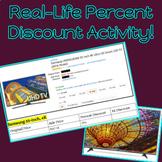 Buying a TV Online - Percent Discount, Percent Change, Tax