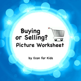 "Economics Picture Worksheet - ""Buying or Selling?"""