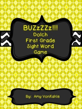 BuzZZz! 1st Grade Sight Word Game