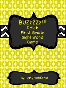 BuzZZz! 1st Grade Sight Word Game