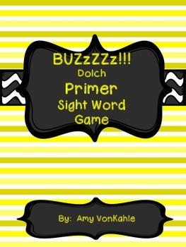 BuzZZz! Primer Sight Word Game
