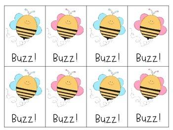 Buzz!  A spring blending game