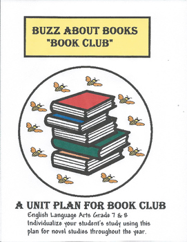 Buzz About Books - A Middle Years Book Club Project