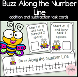 Buzz Along the Number Line! Kindergarten Addition and Subt