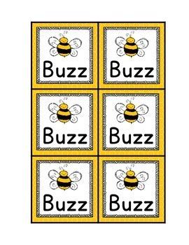 Buzz Alphabet Game