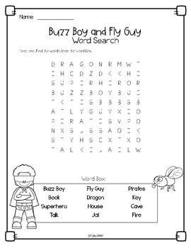 Buzz Boy and Fly Guy Book Companion