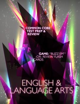 Buzz Em': English and Language Arts Common Core Game