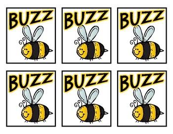 Buzz Game: 2D Shapes Version