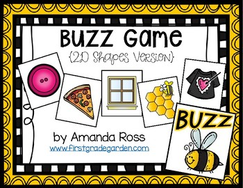 Buzz Game: 2D Shapes Version