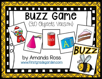 Buzz Game: 3D Objects Version