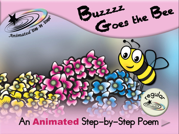 Buzz Goes the Bee - Animated Step-by-Step Poem - Regular