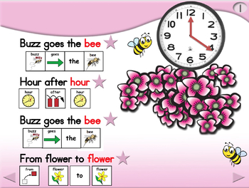 Buzz Goes the Bee - Animated Step-by-Step Poem - SymbolStix