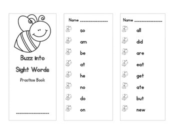 Sight Word Partner Activities (Dolch Primer)