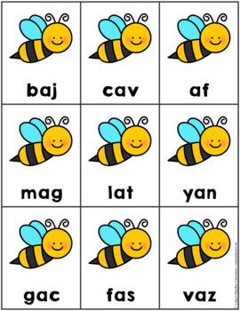 Buzz Off!  Nonsense Word Game