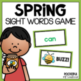 Sight Word Game: Buzz!  Bang! Game