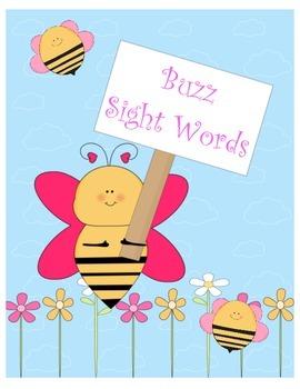 Buzz Sight Words Grade K
