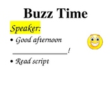 Buzz Time Poster