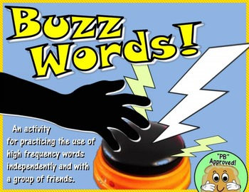 Buzz Words! A High Frequency Word Activity (Aligned with Journeys Grade 1)