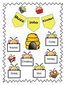 Buzz into Kinder Bulletin Board