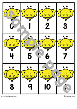 Addition Game - Buzz to Ten - Math Center for Early Addition