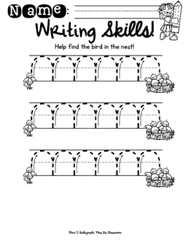 Buzzed About Writing: A Fine Motor Book