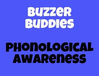 Buzzer Buddies-Phonological Awareness, Spelling, & Syllable Buzzer Templates