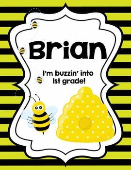 Buzzin Into Poster