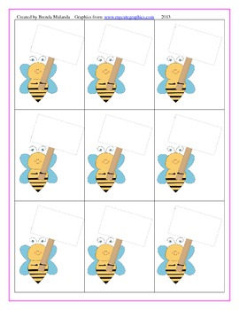 Buzzin' With Bees Long Vowel E game - Unscramble words spelled -ea, -ee, -ey