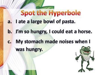 Hyperboles PowerPoint Lesson {Figurative Language}
