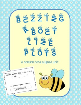 Buzzing About Line Plots (A Common Core Aligned Unit)