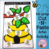 Bee Game Companion Speech Therapy Articulation Cut and Paste