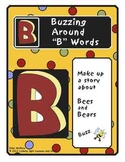 "Buzzing Around ""B"" Words Literacy Center"