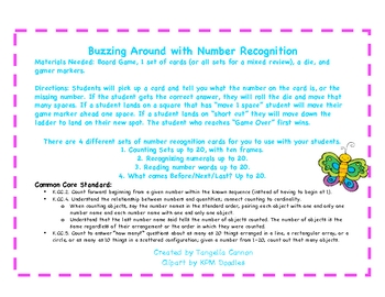 Buzzing Around with Number Recognition
